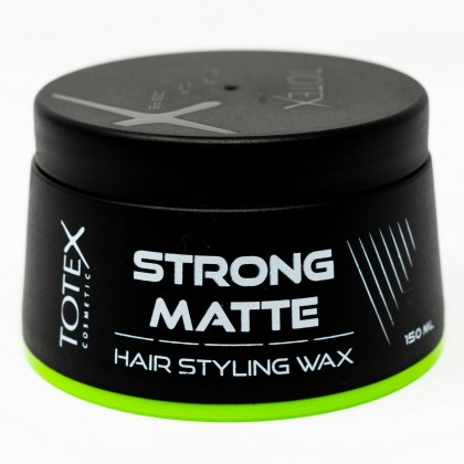 Pack of 12 Totex Hair Styling Strong Matte Wax Give Natural Dry Look Size 150ml